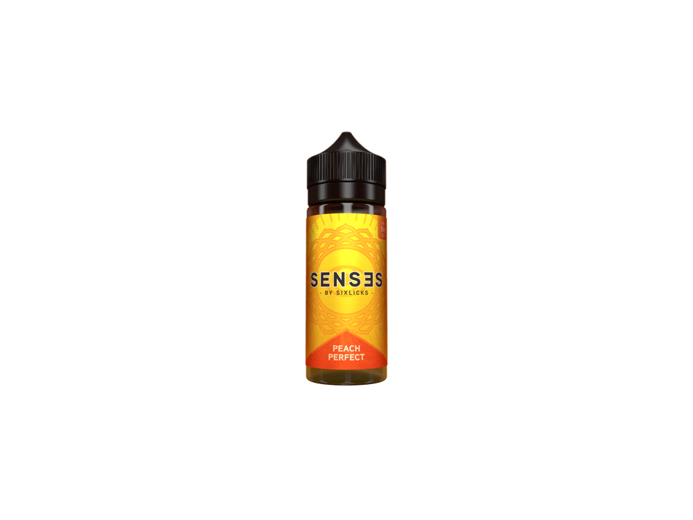 Six Licks - Senses Peach Perfect - 100ml - 0mg