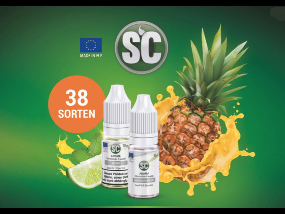 Liquidkarte von SC Liquids